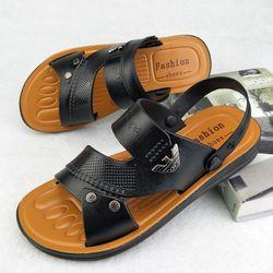 Giày Sandan 2 màu Đen - Nâu giá sỉ