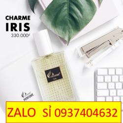 nước hoa charme iris 30ml 2019 giá sỉ