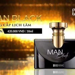 Nước hoa nam Mocha MAN BLACK giá sỉ