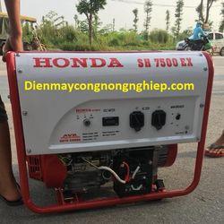 Ở đây bán máy phát điện Honda Thái Lan SH7500ex-5kw le tự động giá rẻ giá sỉ