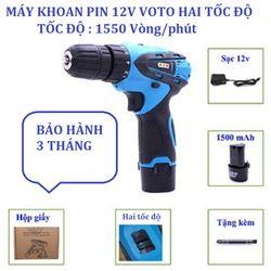 Máy Khoan Pin VOTO 12V giá sỉ, giá bán buôn