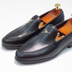 Giày Tây Nam Lịch Lãm - Mã Chữ vàng giá sỉ