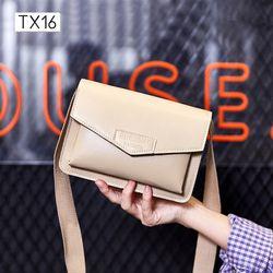 Túi đeo chéo đeo vai nữ PRESENT dây bản bự TX16 giá sỉ