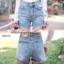 Quần Short jeans rách nhẹ giá sỉ
