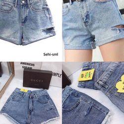 Short jeans rách phá cách giá sỉ