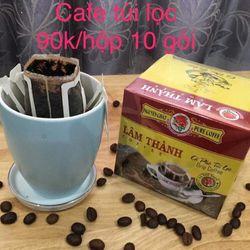 Cà phê nguyên chất túi lọc tiện lợi
