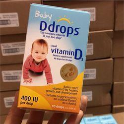 Vitamin D3 Drop Mỹ
