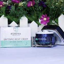 Korena Whitening Night Cream-Kem face đêm giá sỉ