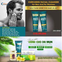 Mocha Cureumin Facial Cleanser Men- Sữa rửa mặt nghệ Nana Nam giá sỉ