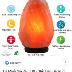 Đèn đá muối Himalaya giá sỉ
