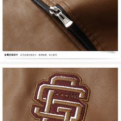 Áo khoác da logo 137 giá sỉ, giá bán buôn
