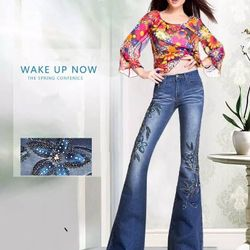 Jeans ống loe
