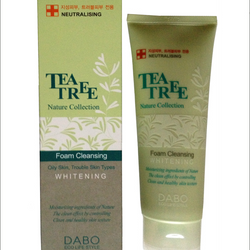 SỮA RỬA MẶT DABO TEATREE NATURE COLLECTION FOAM CLEANSING