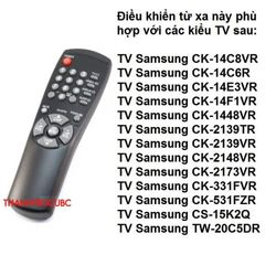 Điều Khiển Remote Tivi CRT Sam 10107N giá sỉ