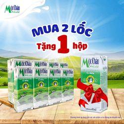 Sữa tươi tiệt trùng Mộc Châu 180ml có đường giá sỉ