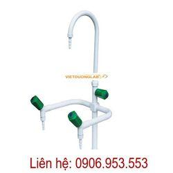 Vòi rửa 1 nhánh – vòi rửa 2 nhánh – vòi rửa 3 nhánh phòng thí nghiệm