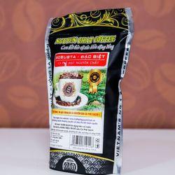 Cà phê nguyên chất Hạt ROBUSTA đặc biệt gói 250g giá sỉ