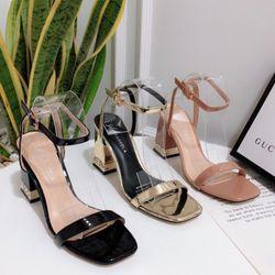 Giày sandal gót đá giá sỉ