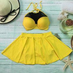 Set bikini vàng giá sỉ