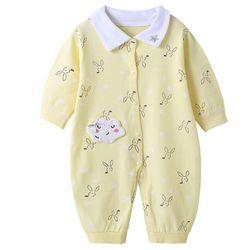 Áo liền quần cho bé chất liệu cotton xịn thoáng mát kiểu cute 109 giá sỉ
