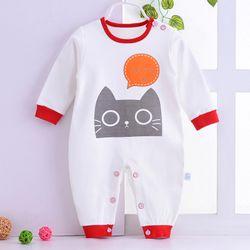 Áo liền quần cho bé sơ sinh thun cotton thoáng mát 104 giá sỉ