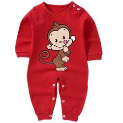 Áo liền quần cho bé sơ sinh hình chú khỉ đáng yêu 106 giá sỉ