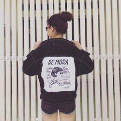 áo khoác jean nữ đắp giá sỉ, giá bán buôn