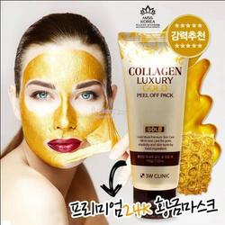Mặt Nạ Vàng Collagen Luxury Gold Peel Off Pack 3W Clinic giá sỉ
