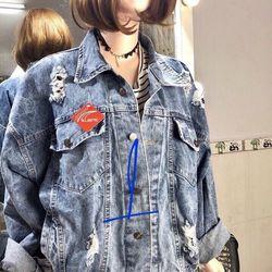 áo khoác jean nữ thường giá sỉ