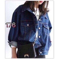 áo khoác jean nữ thường 176 giá sỉ