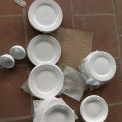 đĩa sứ 18cm giá sỉ, giá bán buôn