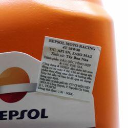 Dầu nhớt xe máy xe số mô tô Repsol Racing 4T 10W40 giá sỉ giá bán buôn giá sỉ