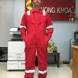 QUẦN ÁO CHỐNG CHÁY CHẬM TARASAFE quần áo bảo hộ lao động chống cháy chậm Taracomfort 100 cotton 260 gsm giá sỉ