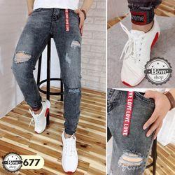 quần jean nam dài super man giá sỉ