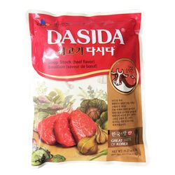 Hạt nêm bò Hàn Quốc Dasida CJ 1kg giá sỉ
