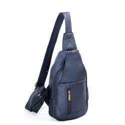 Túi đeo chéo CNT unisex MQ14 cá tính đen giá sỉ