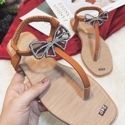 Giày sandal nơ giá sỉ