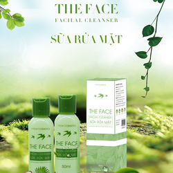 SỮA RỬA MẶT THE FACE FACIAL CLEANSER VYCHI COSMETIC