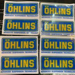 Tem Ohlins xanh thuỵ điển dán xe máy giá sỉ