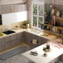 HPT - nhận gia công tủ bếp tủ áo nội thất căn hộ giá sỉ