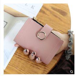 ví nữ mini bóp nữ đựng tiền có ngăn khóa nhỏ xinh xắn - mã 93N2 giá sỉ