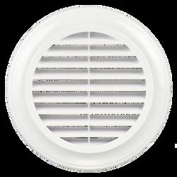 Cửa gió nhựa TRÒN có lưới ngăn côn trùng - DECOR giá sỉ