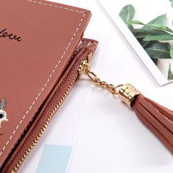 ví nữ bóp nữ đựng tiền thêu họa tiết xinh xắn- mã 86F4 giá sỉ, giá bán buôn