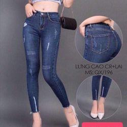 jean dài nữ 1014 giá sỉ