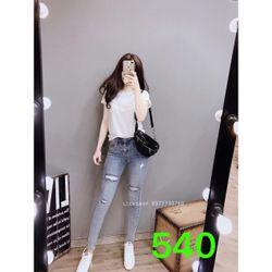 jean dài nữ 540 giá sỉ