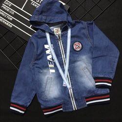 Áo khoác jean bé trai 3-10 giá sỉ, giá bán buôn