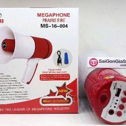 Loa phóng thanh MS-16-004 Megaphone có ghi âm đọc quảng cáo bán hàng rong