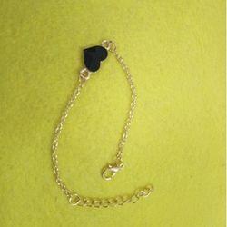 lắc tay kim loại xi vàng giá sỉ 8k bao gồm dây và mặt hàng đẹp y hình lun vì hình tự chụp giá sỉ
