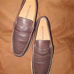 Giày lười da thật giá sỉ