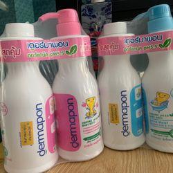 Sữa tắm bé Thái có vòi thay tiện dụng 480ml400ml giá sỉ